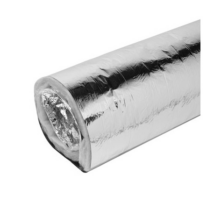 Flexibilis hő és hang szigetelt cső 10m 125
