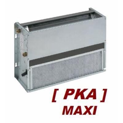 GO-Tec PKA Maxi fan-coil, 2 csöves burkolat nélküli, parapet, front beszívású, (Q.tot.h:2,4 kW, Q.f: 2.1 kW) EC motorral, 4VR hőcserélővel
