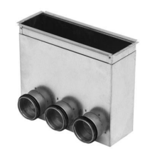 Csatlakozó doboz  Padló-3010-80-2